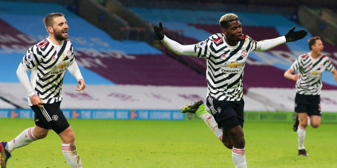Read more about the article Pogba puts United on top